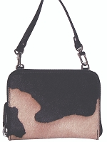 Scully Western Hair on Calf Stadium Handbag