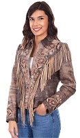 Scully Leather Jacket Collection Fringe Suede