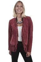 Scully Women's Leather Jacket Collection Suede Fringe