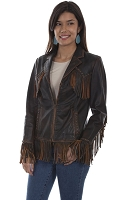 Scully Leather Western Fringe Jacket