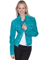 Scully Leather Suede Jean Jacket