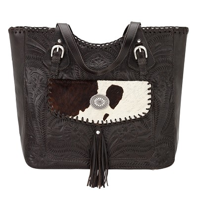 Annie's Secret Zip Top Tote - Chocolate