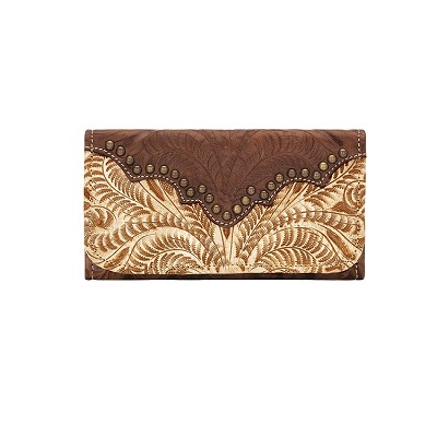 Annie's Secret Tri-Fold Wallet - Distressed Cream 9199282