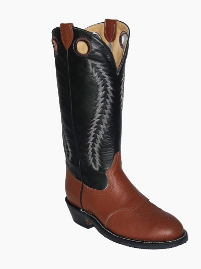Buckaroo Boot 1211- All Leather Cognac