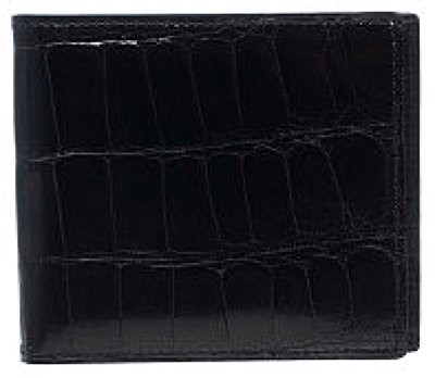Alligator Billfold - Black