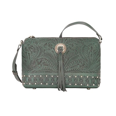 Dove Canyon Crossbody Bag - Turquoise