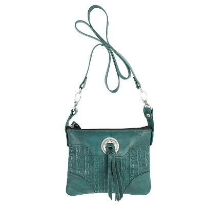 Southern Style Basket Weave Collection Trail Rider - Dark Turquoise