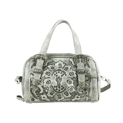 Heritage Hills Collection Zip Around Barrel Bag - Safari Gray