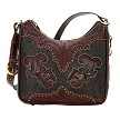 Annie's Secret Shoulder Bag - Distressed Crimson