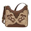 Annie's Secret Shoulder Bag - Distressed Cream