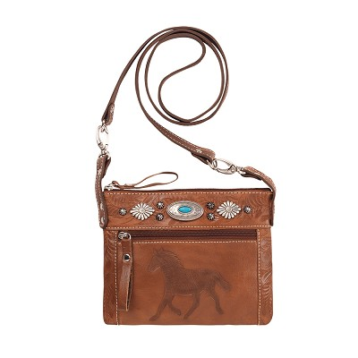 Trail Rider Crossbody / Hip Bags Antique Brown / Chestnut Brown