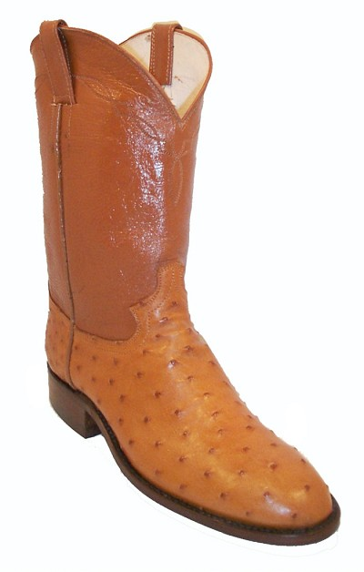 "Full Quill Ostrich Roper  Height 10"" 294 - Cognac"