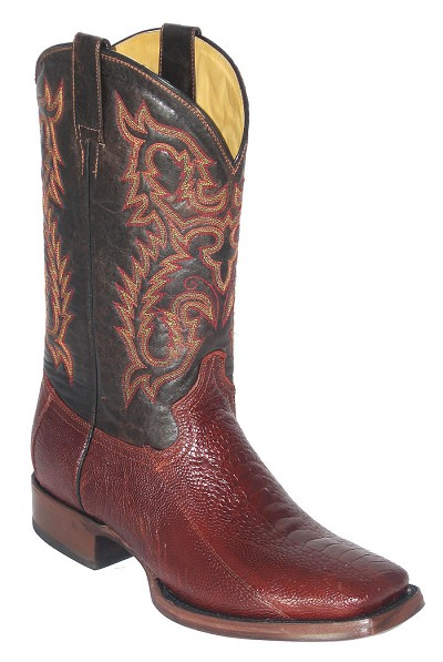 "Ostrich Leg Height 13"" 898 - Cognac"