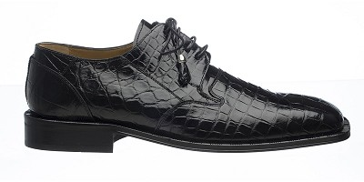 Ferrini Classic Alligator Square Toe Dress Shoe