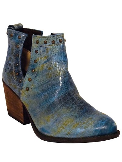 "Turquoise Bootie R-Toe> 6"" Turquoise"