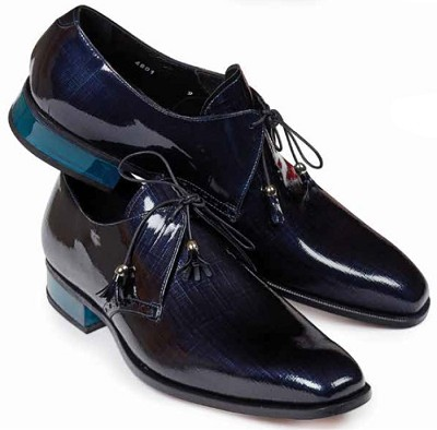 Mauri Mantegna Patent Leather Canapa Plexiglas heel 4801 Black, Blue, Grey or Red