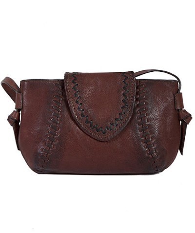 Scully Leather Ladies Handbag KALAHARI - Brown